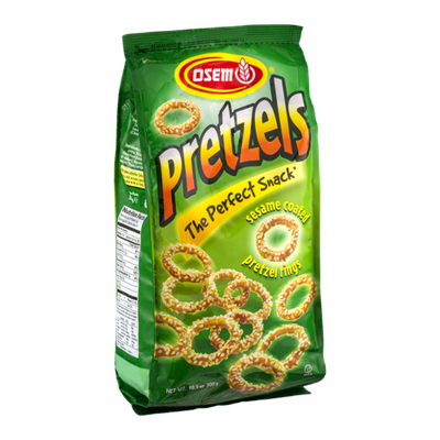 Osem Pretzels Sesame Coated Pretzel Rings