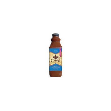 Third Street Chai, Sugar-Free Chai, 32-Ounce Plastic Bottles (Pack of 6)
