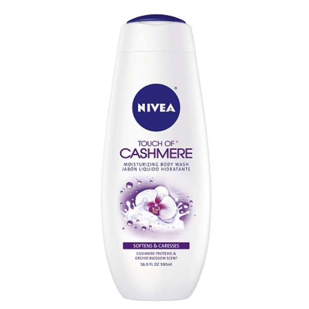 Nivea Body Wash Touch of Cashmere Cream Oil Body Wash