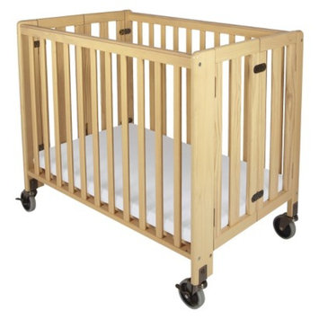 HideAway Fixed Side Crib - Natural by Foundations