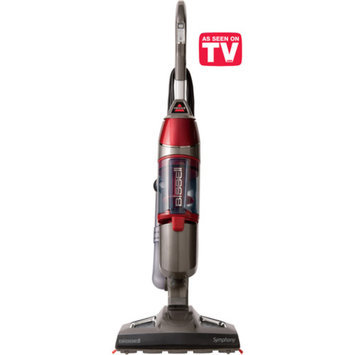 Bissell Symphony Vacuum and Steam Mop with 2 Mop Pads, 1132