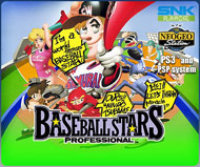 SNK Playmore USA BASEBALL STARS PROFESSIONAL PSP DLC