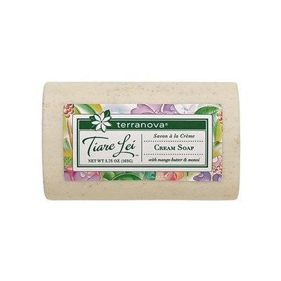 Terra Nova Terranova Tiare Lei Cream Soap with Mango Butter & Monoi 5.75 OZ Bar
