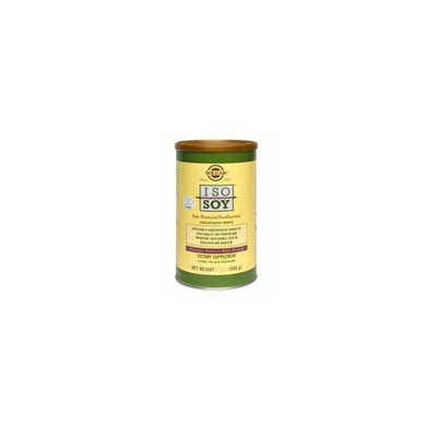 Solgar Iso-Soy Protein/Isoflavone Concentrated Powder, Natural Vanilla Bean Flavor, 40 Ounce