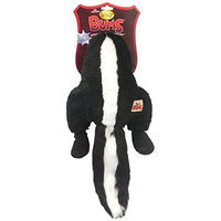 Romp! Silly Bums Skunk, Plush, Crinkly, Squeaky, Funny and Furry Dog Toy - Large