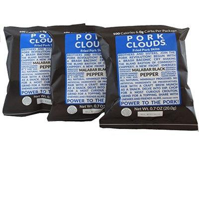 Bacon's Heir Pork Clouds - Malabar Black Pepper (3 Bags)