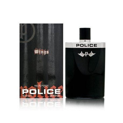 Police Wings By Parfums Police For Men. Eau De Toilette Spray 3.3 Oz.