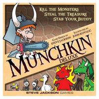 Munchkin MUNCHKIN Deluxe Steve Jackson Standalone Game