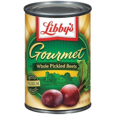 Libbys Libby's Gourmet Whole Pickeld Beets, 15-Ounce Cans (Pack of 12)