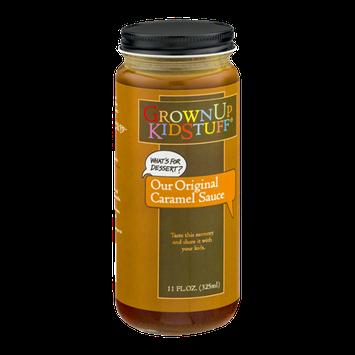GrownUp KidStuff Original Caramel Sauce