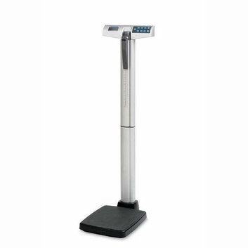 HEALTH-O-METER 500KL Physician Digital Scale 1in LCD 14-3/4inx21inx53-5/8in Silver