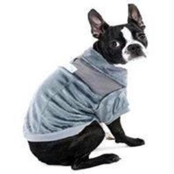 Ethical Pet Ski Lodge Dog Jacket Color: Grey, Size: X-Small