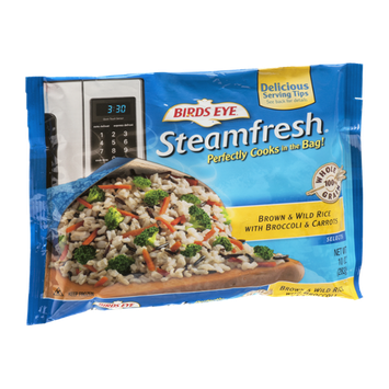 Birds Eye Steamfresh Selects Brown & Wild Rice With Broccoli & Carrots