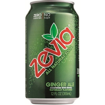 Zevia All Natural Ginger Ale Soda Soft Drink