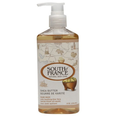 South of France Natural Body Care, Hand Wash with Soothing Aloe Vera, Shea Butter, 8 oz