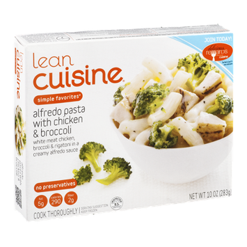 Lean Cuisine Simple Favorites Alfredo Pasta with Chicken & Broccoli