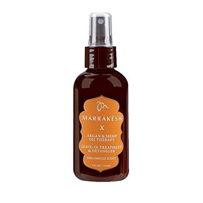 Marrakesh Marrakesh X Dreamsicle Leave-In Treatment and Detangler with Hemp and Argan Oils, 4 Ounce