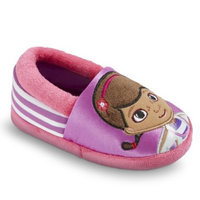 Toddler Girl's Disney Doc McStuffns Slippers - Purple/Pink XLRG