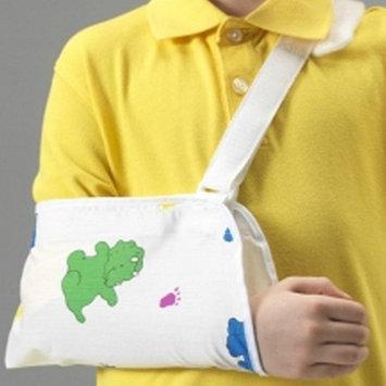 Champion KidsLine Pediatric Cradle Style Sling White w/ Dinosaur Print