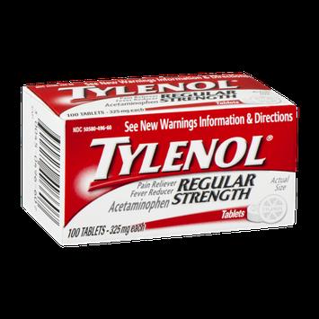 Tylenol Regular Strength Tablets - 100 CT