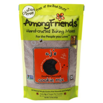 Among Friends Cookie Mix, CJ's Double Chocolate, 12.4 oz