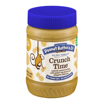 All Natural Peanut Butter & Co. Crunch Time