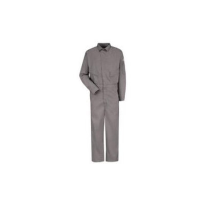 Bulwark 54 Men's Grey Long Sleeve Coveralls CLD4GY RG 54-1