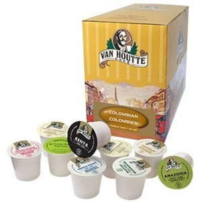 The Coffee Mix VAN HOUTTE Sampler, 20 Single Serve Cups