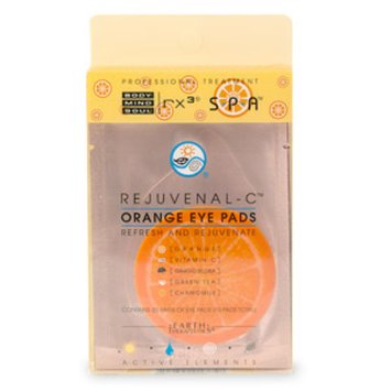 Earth Therapeutics Orange Eye Pads