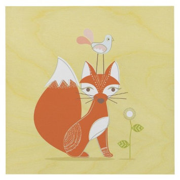 Lolli Living Fox Wall Plaque