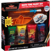 Disney Planes Fire & Rescue Bath Time Paint Set, 7 pc
