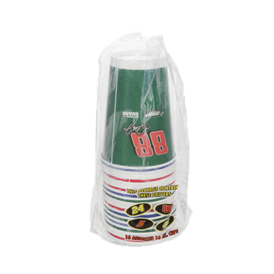 Nascar Paper Cups - 16 CT