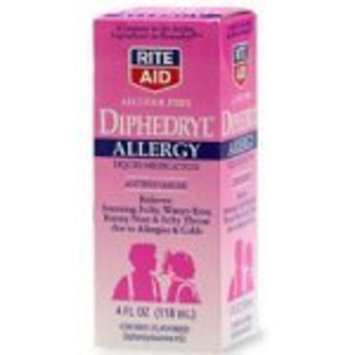 Rite Aid Brand Rite Aid Allergy Medication, Children's, Cherry Flavor, 4 oz