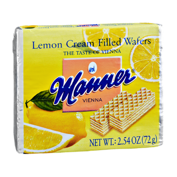Manner Vienna Lemon Cream Filled Wafers