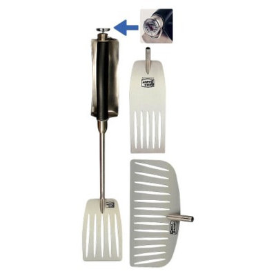 Grill Daddy Heat Shield Ultimate 4pc Spatula/Thermometer Set