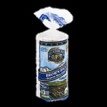 Lundberg Brown Rice Organic Rice Cakes Lightly Salted