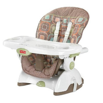 Fisher-Price Space Saver High Chair, Coco Sorbet, 1 ea