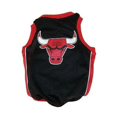 Sporty K9 Chicago Bulls Basketball Dog Jersey, Large