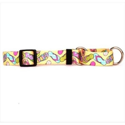Yellow Dog Design M-FLF102M Flip Flops Martingale Collar - Medium