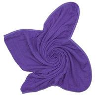 Austin Tie Dye Co Bamboo Swaddle Blanket for Babies - Deep Purple