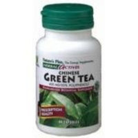 Chinese Green Tea Extract 400mg Nature's Plus 60 Caps