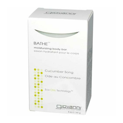 Giovanni Hair Products Giovanni Bathe Body Bar Soap Cucumber Song 5.3 oz
