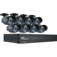 Night Owl Security Products 16-Channel STA 500GB DVR with 8 Night Vision Cameras and Smartphone Viewing