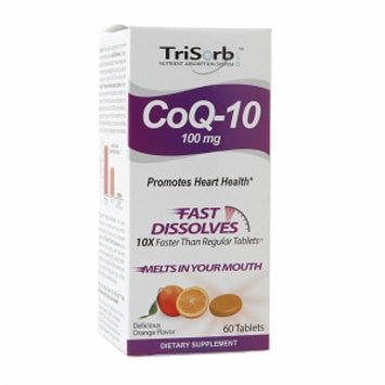 Hns Healthy Natural Systems TriSorb CoQ-10 100mg, Orange, 60 ea