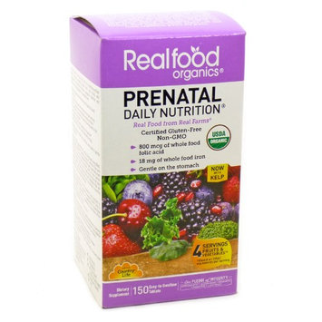 Country Life Realfood Organics Prenatal Daily Nutrition 150 Tablets