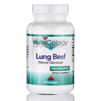 NutriCology Beef Lung Natural Glandular - 100 Vegicaps