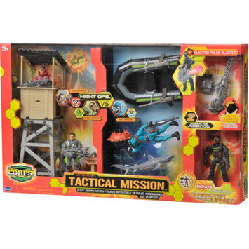 The Corps Tactical Mission Set with Boat Ages 3 +, 1 ea