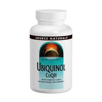 Source Naturals Ubiquinol CoQh 100mg, 60 Softgels
