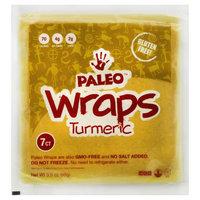 Julian Bakery - Paleo Wraps Turmeric - 3.5 oz.