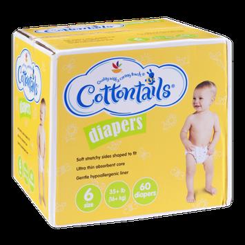 Cottontails Diapers Size 6 - 35+ lb